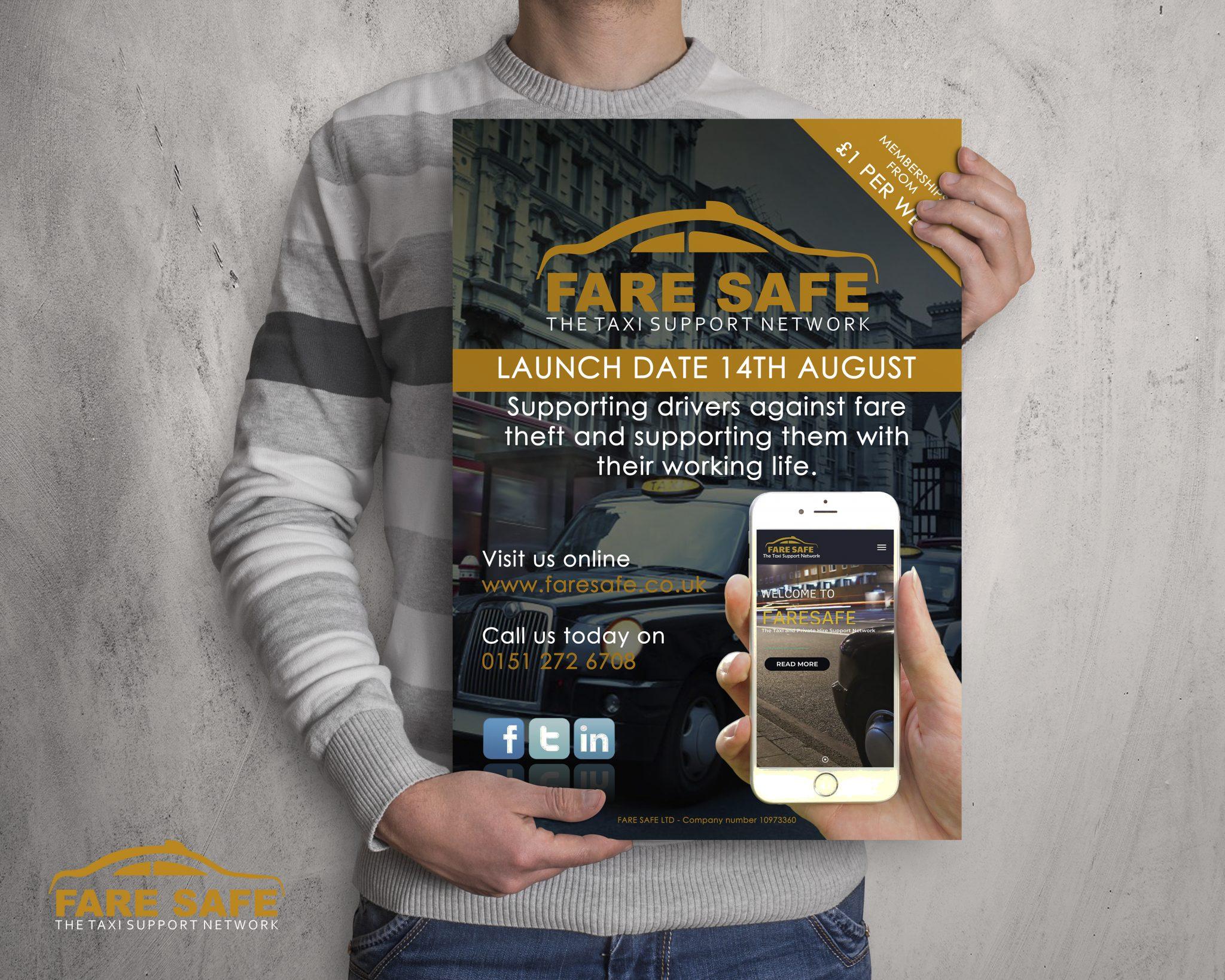 Faresafe Poster Design